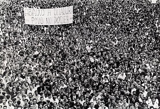 Passeta dos 100 mil no Rio de Janeiro em 1968