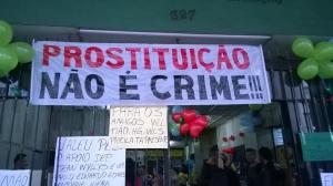 Puta Dei realizado no dia 31 de maio de 2014 em Niterói. Foto: Evelyn Silva.